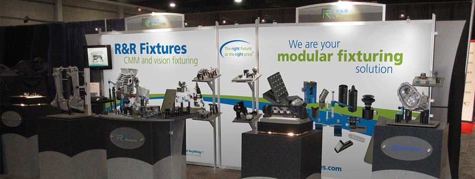 R&R trade show stand