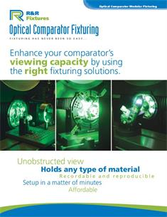 Optical Comparator Fixturing brochure