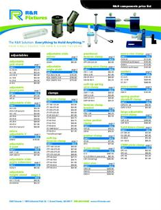 Component catalog price list