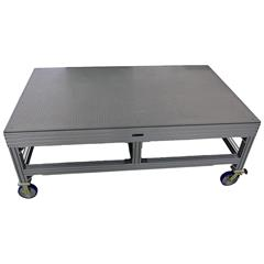 "CMM table with casters, 60"" x 96"" x 36"""